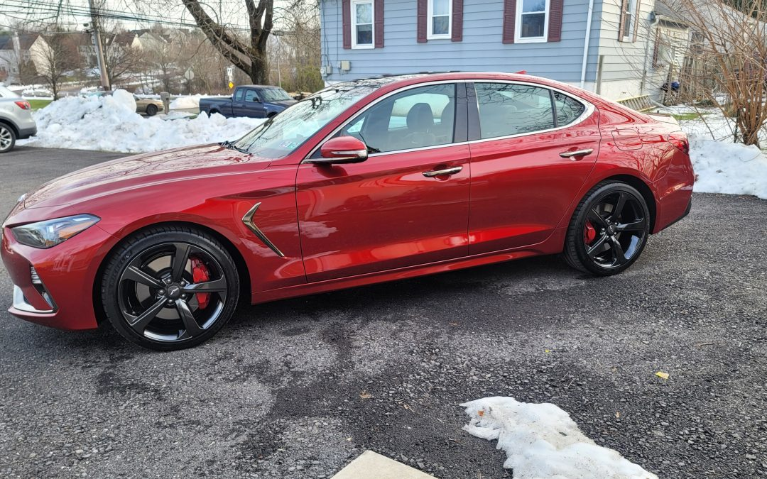 Genesis G70 with Ceramic Pro Sport